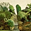 gardens, steps,